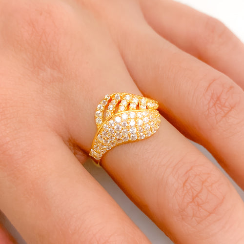 Sweeping Multi-Row CZ Ring