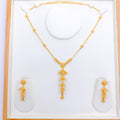 Five Tier Pendant Necklace Set