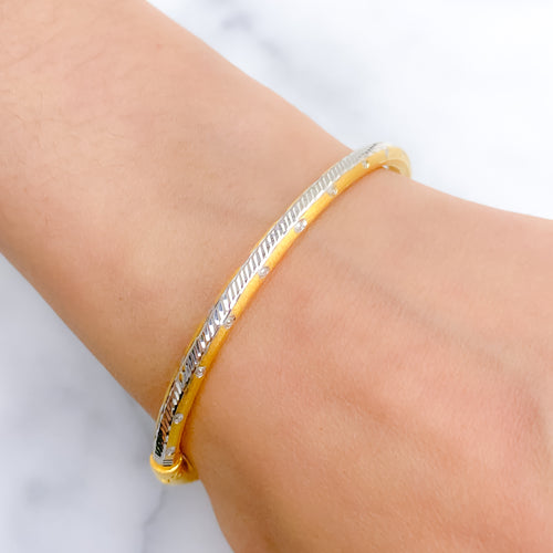 Sleek Lightweight Bangle Bracelet