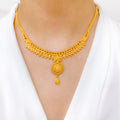 Decorative Rounded Necklace Set