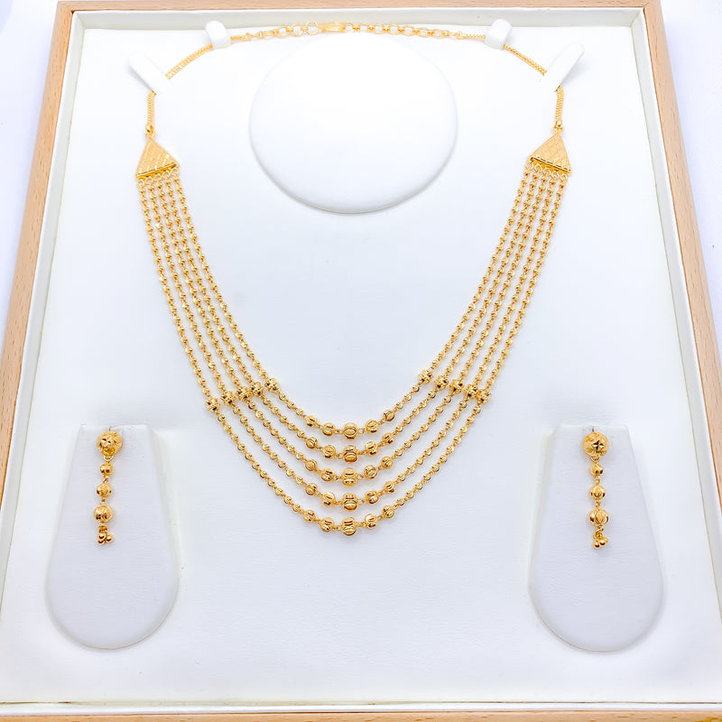Special 5 Lara Finish Necklace Set