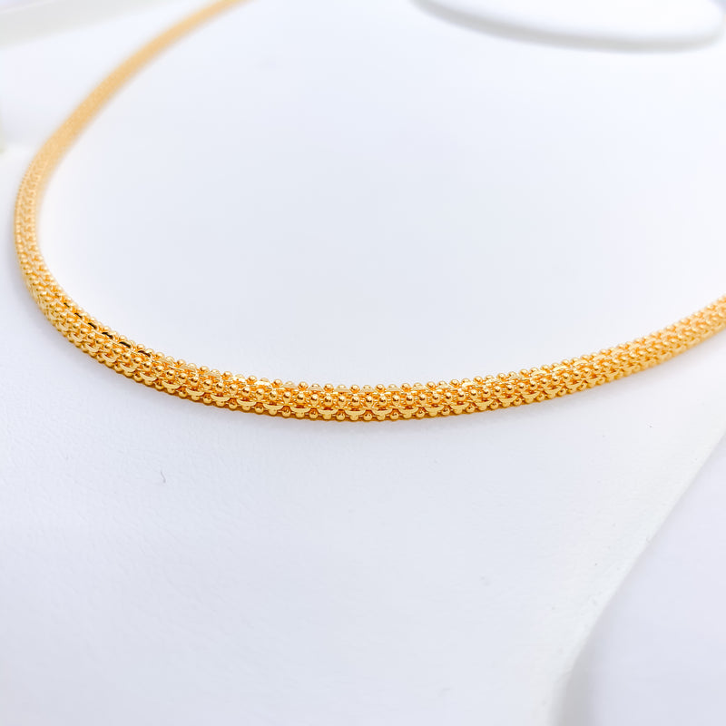 Charming Beaded Accent Chain
