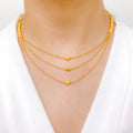 Gorgeous Three Lara Necklace Set