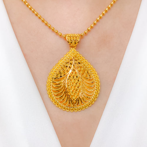 Grand Elegant Drop Pendant