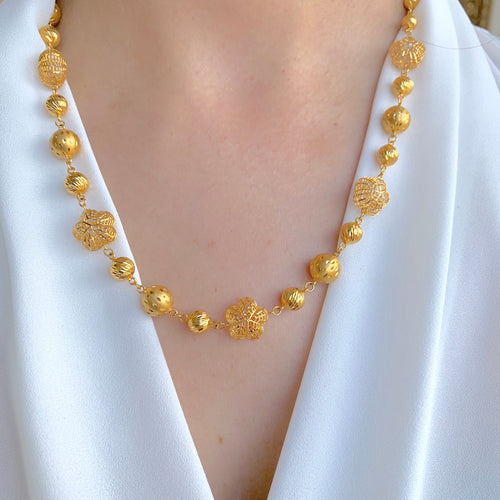 Statement Flower Chain