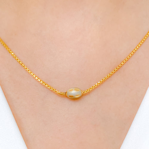 Two-Tone Everyday Necklace
