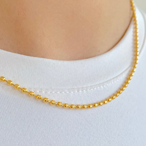 Medium Gold Bead Chain