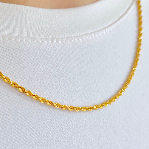Solid Thin Rope Chain