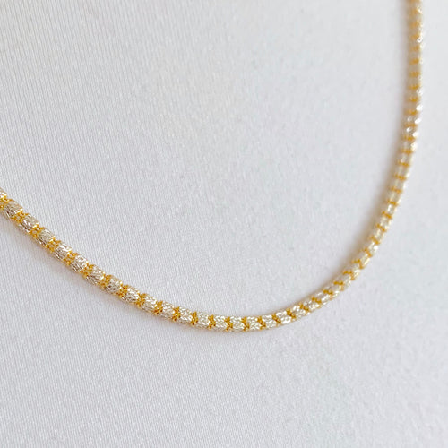 Three Sided Two-tone Chain