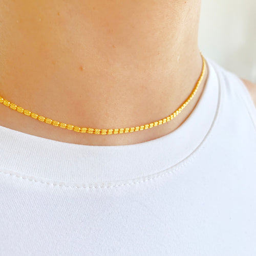 Flat Two-Piece Chain