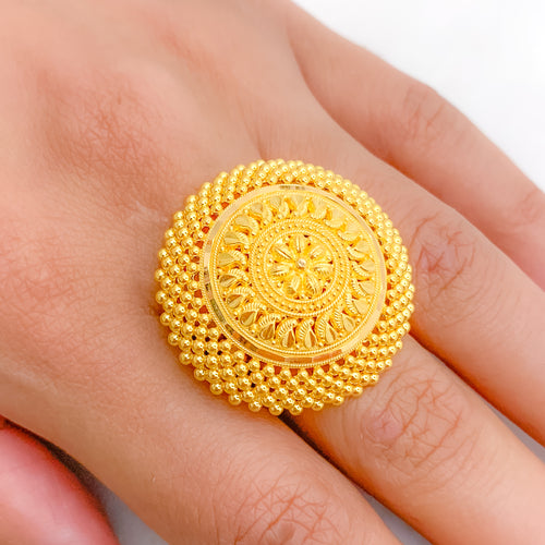 Refined Mango Style Ring