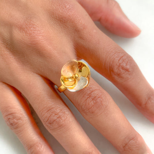 Stylish Open Flower Ring