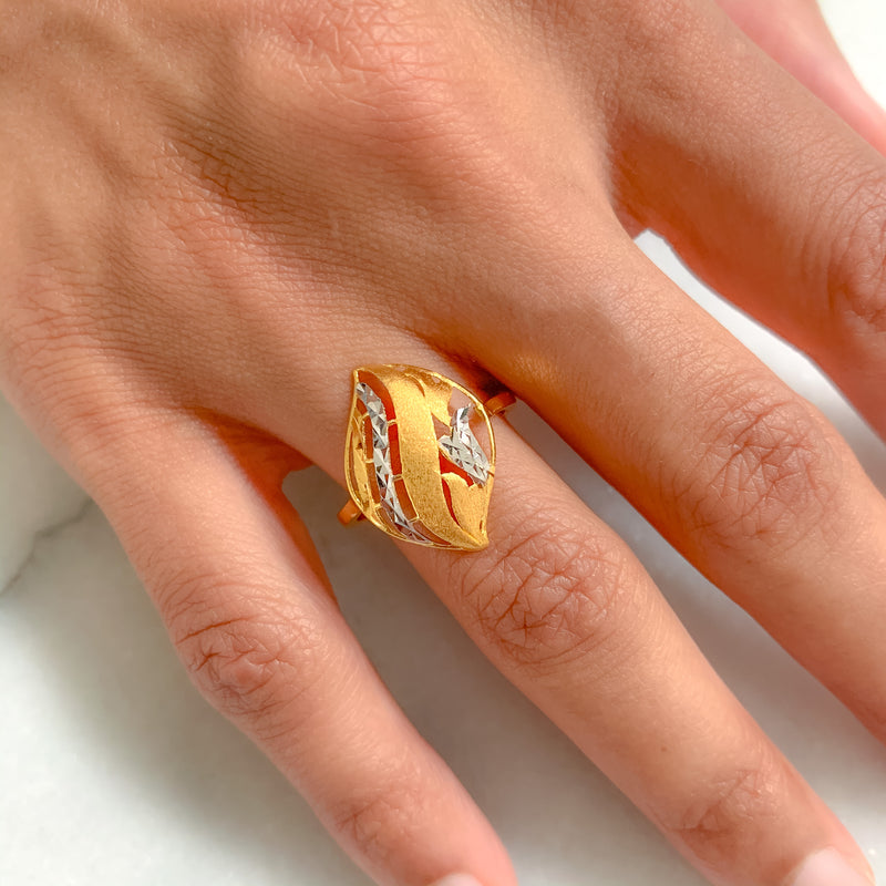 Contemporary Petal Ring