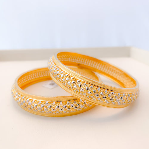 Lightweight Rounded Bangles