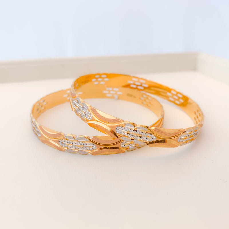 Contemporary High Finish Bangles