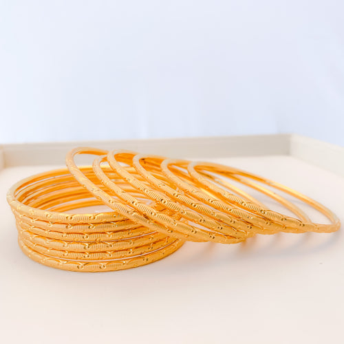 Hollow Fancy Bangles