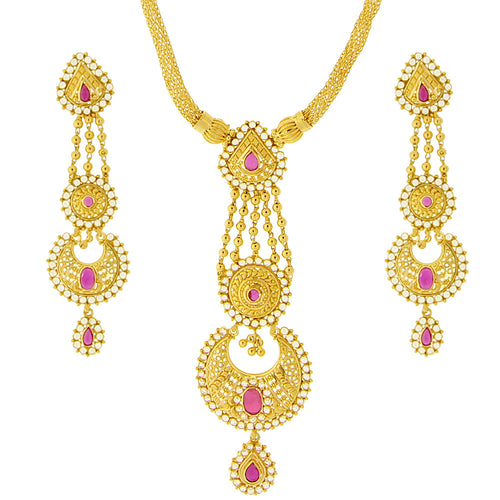 Chandbali Necklace Set