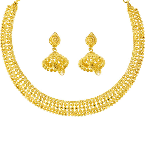 Hansli-style Necklace Set