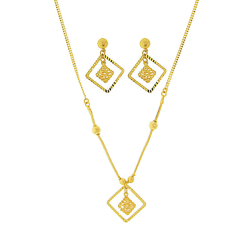Light Singapore Necklace Set