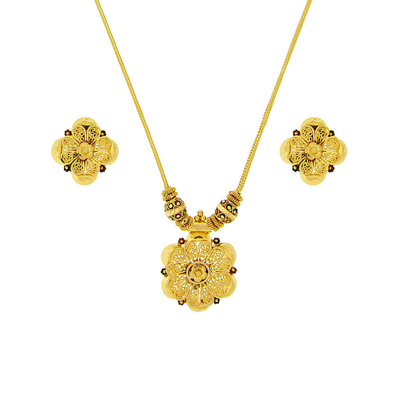 Meena Necklace Set