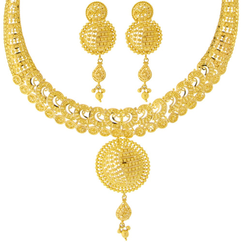 Classic Gold Necklace Set