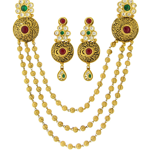 Three-layer Necklace Set