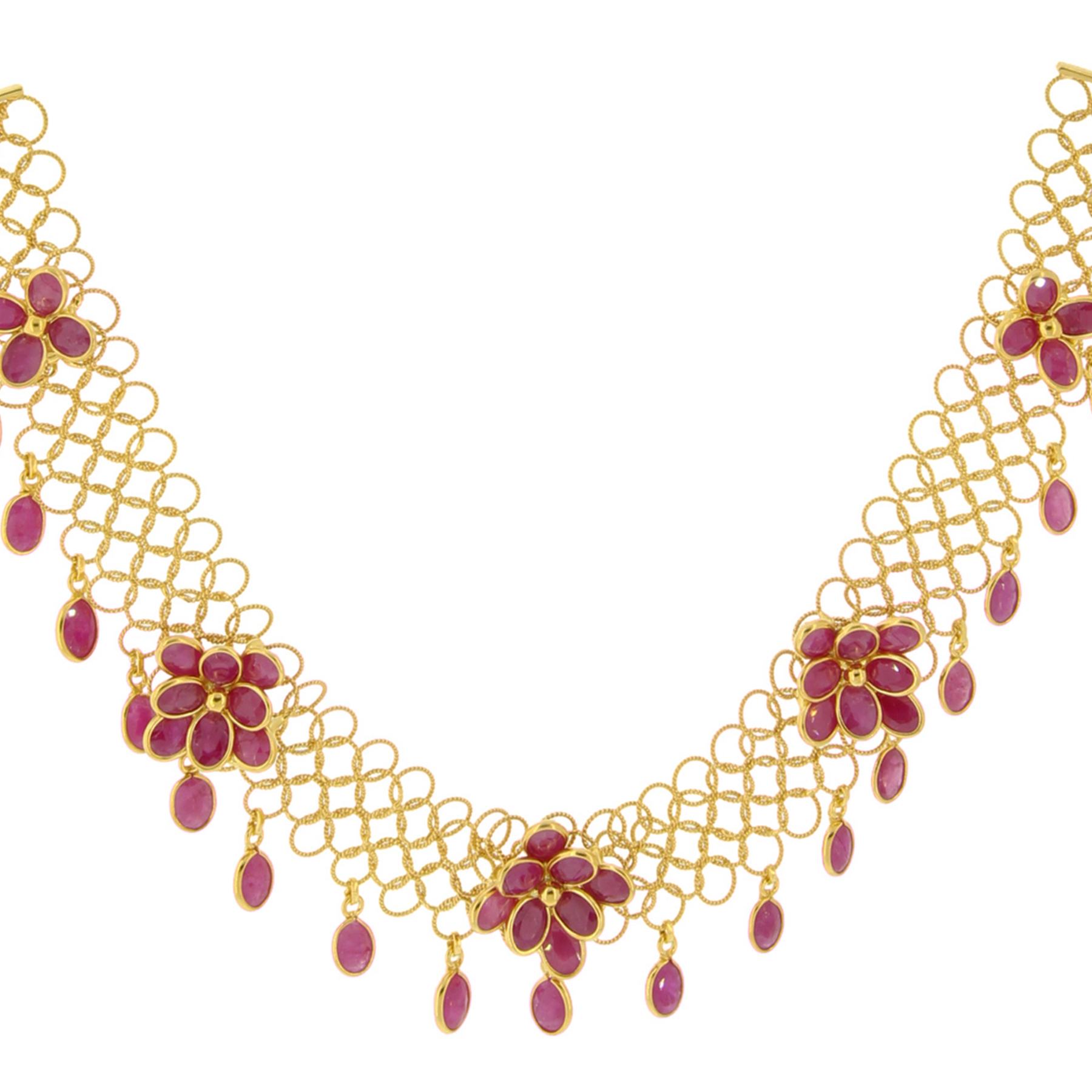 edition yg products necklace jewellery gold ruby limited jewelry