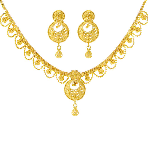 Chand Bali Necklace Set