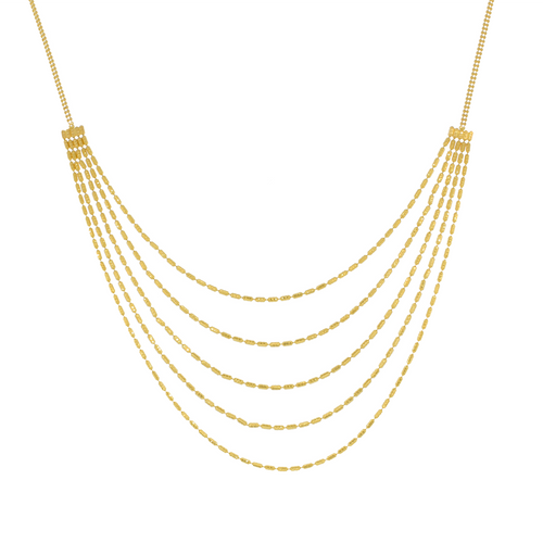 Elegant Layered Necklace Set