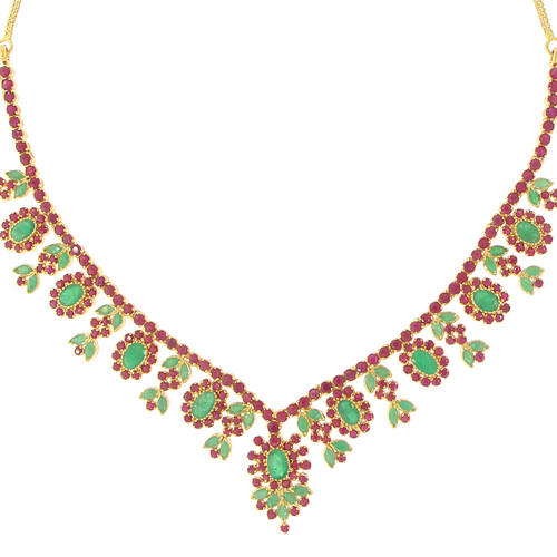 3-PIECE SOUTH STUDDED NECKLACE SET