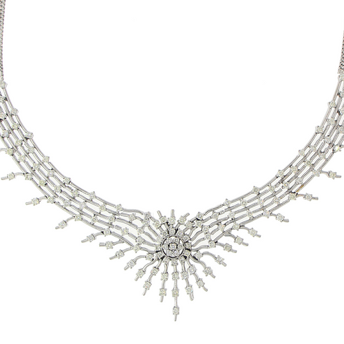 3-PIECE DIAMOND NECKLACE SET