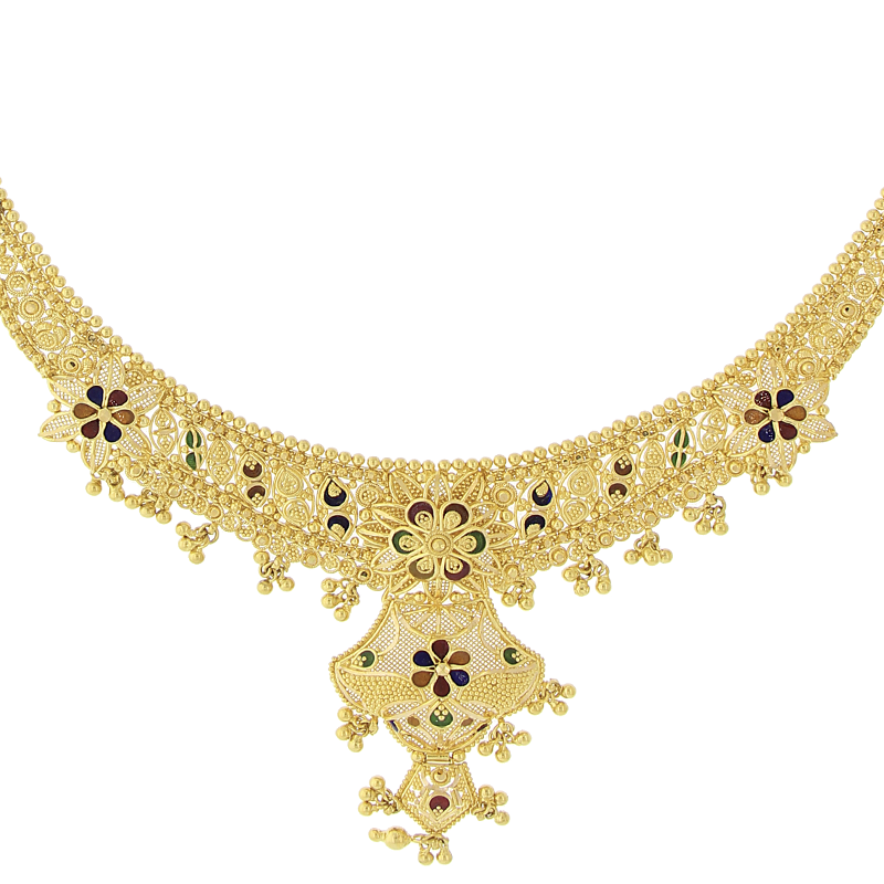 3-PIECE GOLD NECKLACE SET