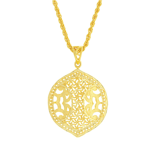Filigree Gold Pendant