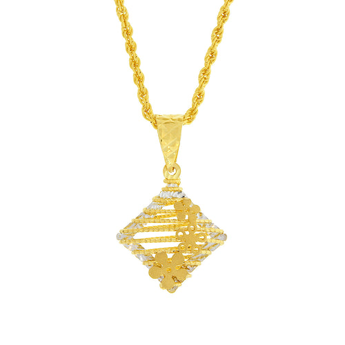 Diamond-shape Pendant