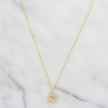 Clover Shaped Pendant with Chain