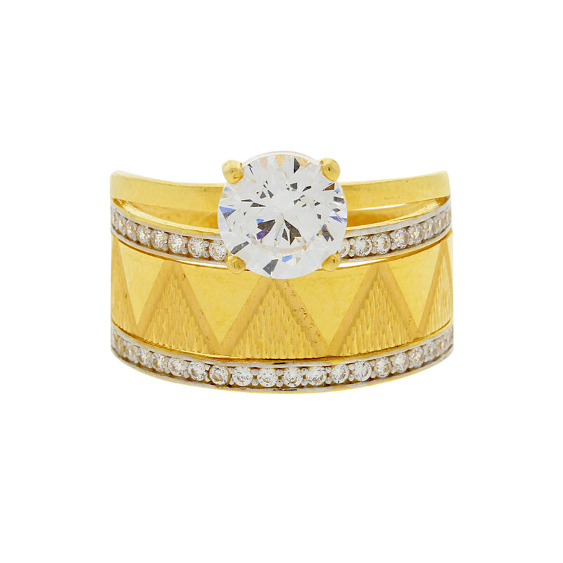 Ladies CZ Ring
