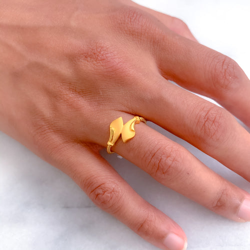 Two Arrowhead Ring