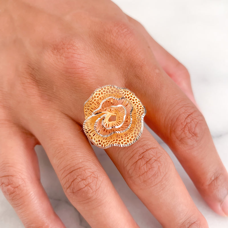 Zali Flower Ring