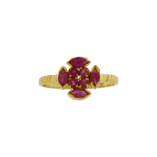 Marquee Ruby Ring