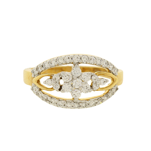 Trendy Diamond Statement Ring