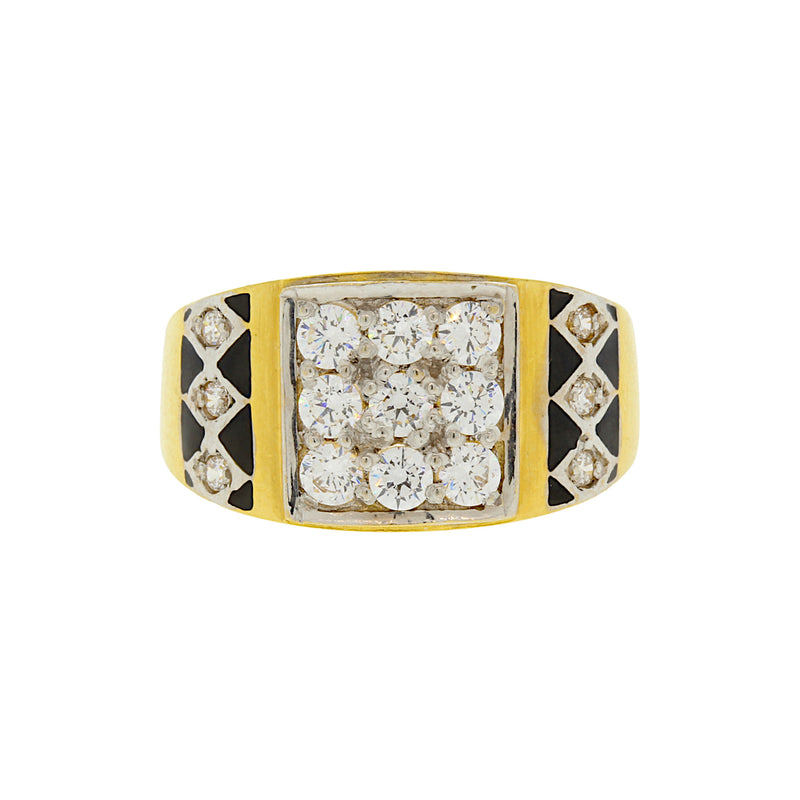 CZ Men's Ring