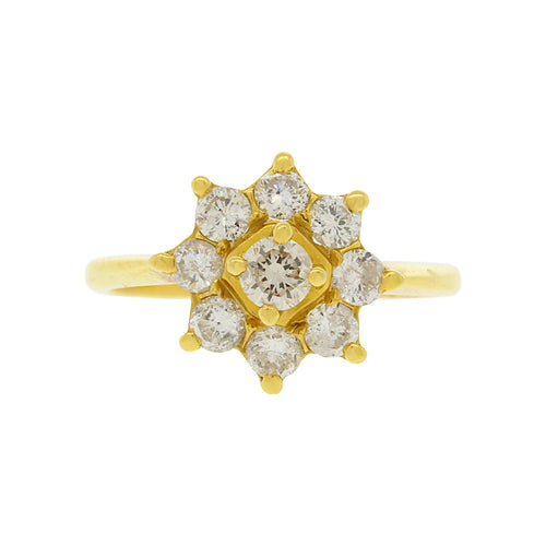 Floral Diamond Ring