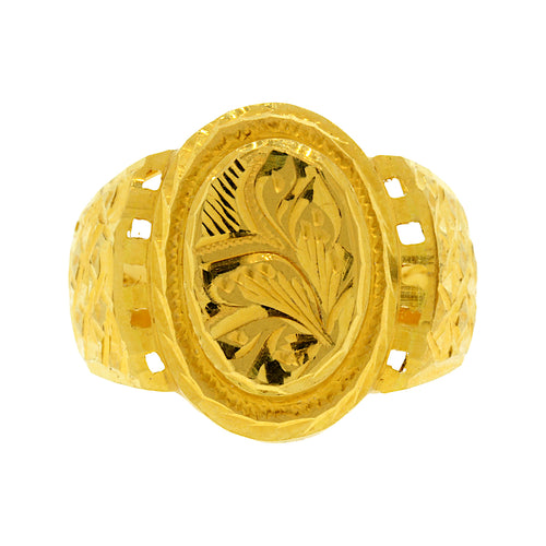 Gold Men's Ring