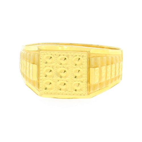 Men's Classic Gold Ring