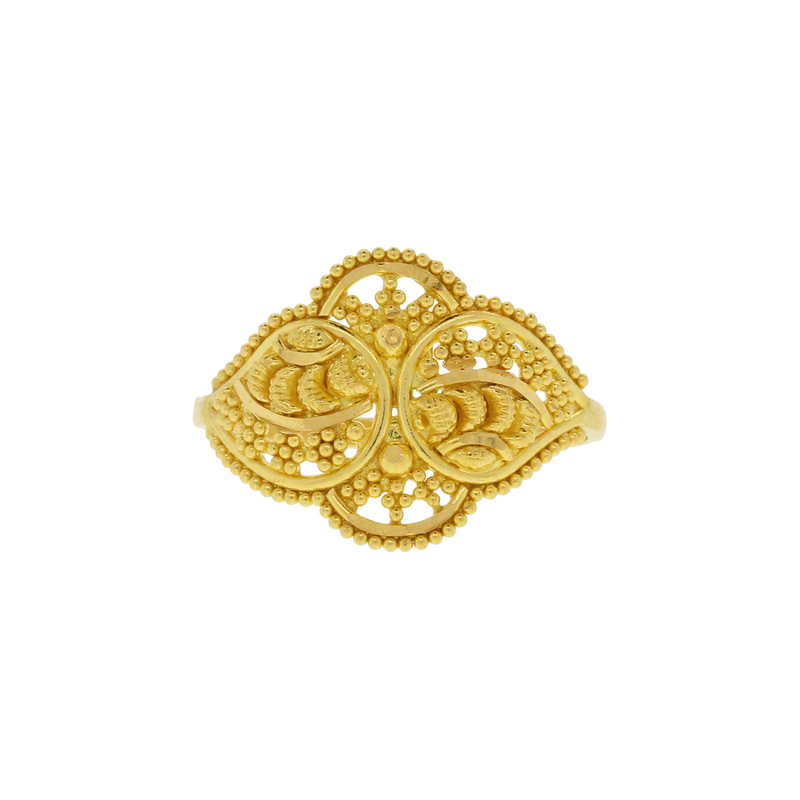 Intricate Gold Ring