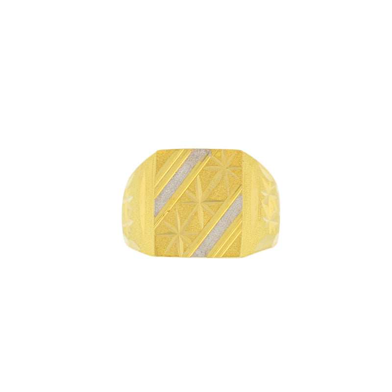 Two-tone Men's Ring