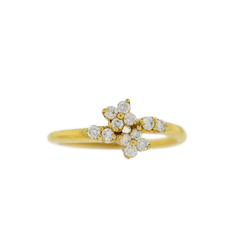 Elegant 12-Stone Diamond Ring