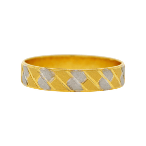 Brick Style Two-tone Band