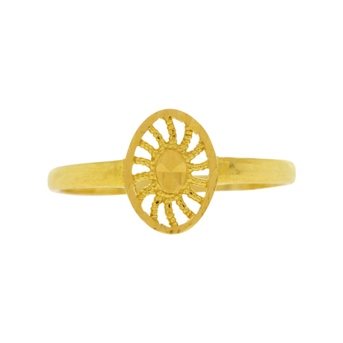 Sunrise-design Baby Ring