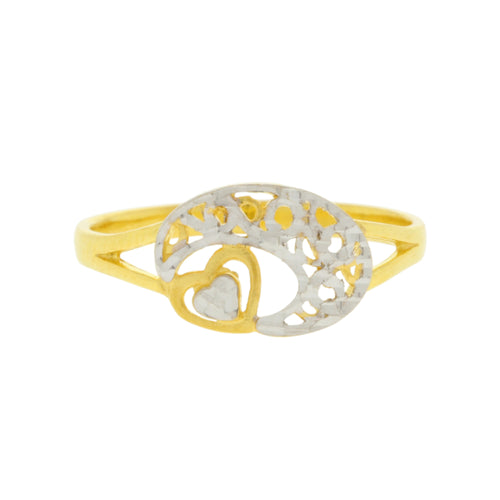 Hidden Heart Ring